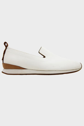 Slip On Runner - White