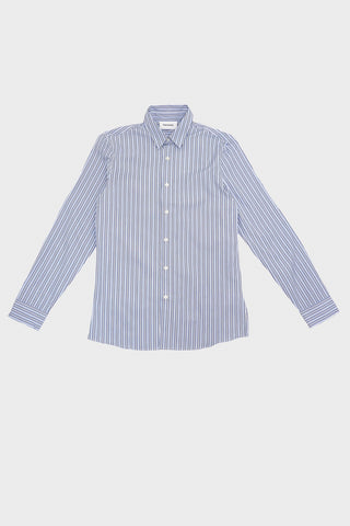 harmony paris Caleb Shirt - Blue Stripes
