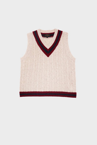 beams plus Cricket Vest - Off White