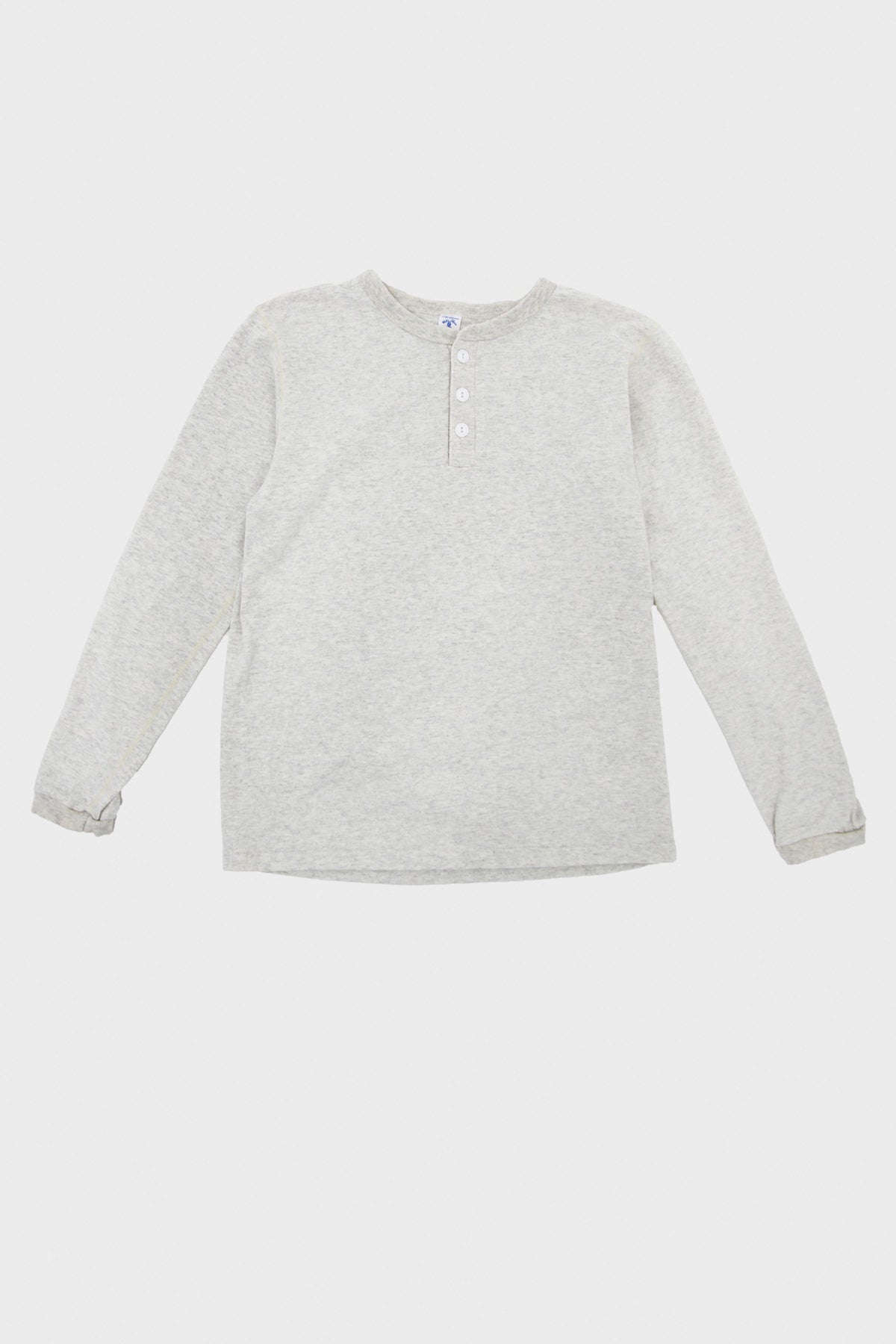 Velva Sheen - Tubular Knit Henley - Oatmeal - Canoe Club