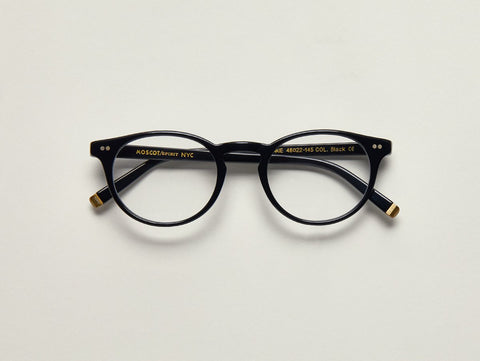 moscot Frankie eyeglasses - Black Optical