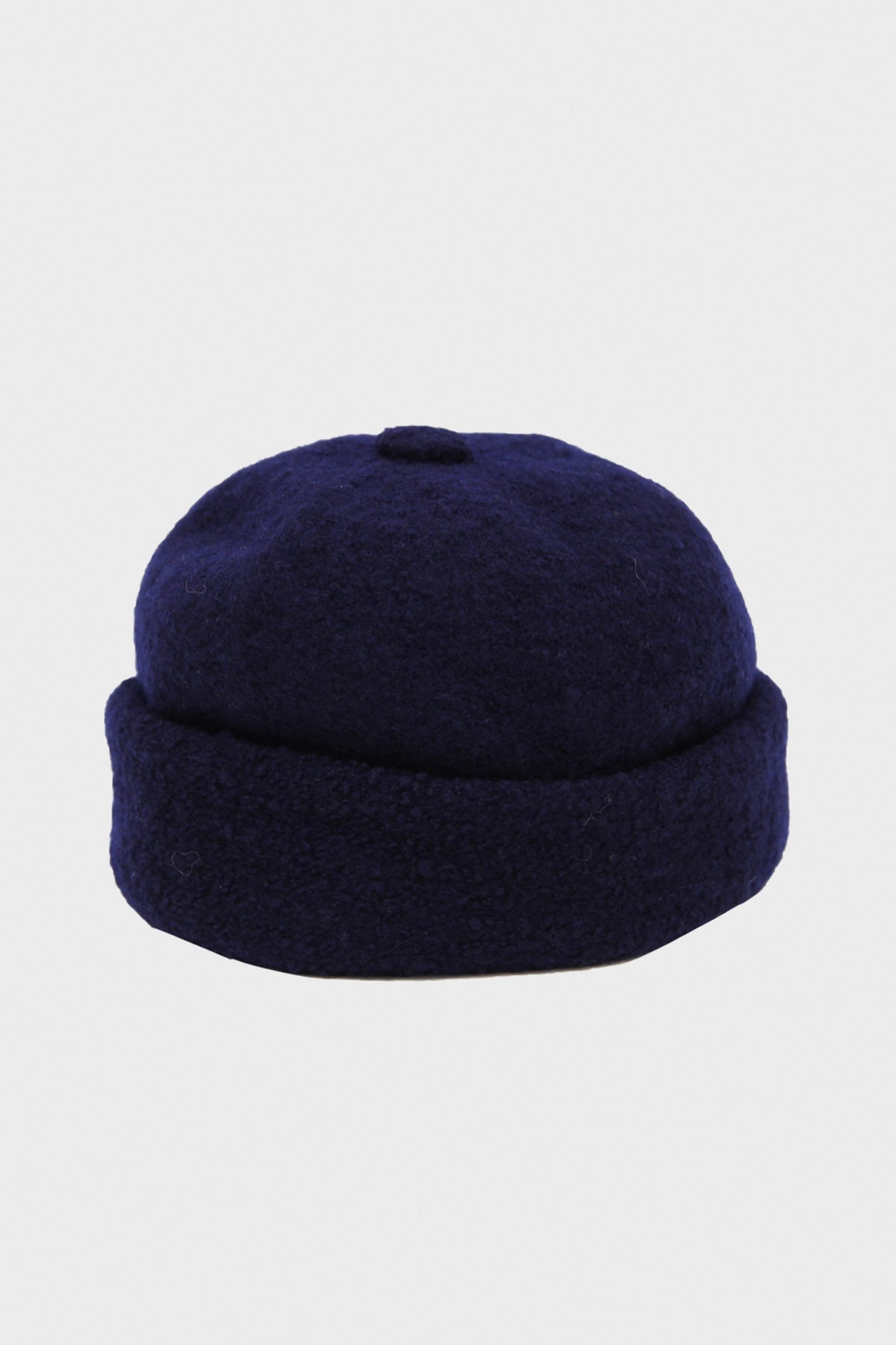 Cableami - Boiled Wool Cap - Navy - Canoe Club