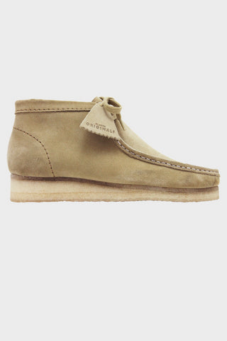 Wallabee Boot - Maple Suede