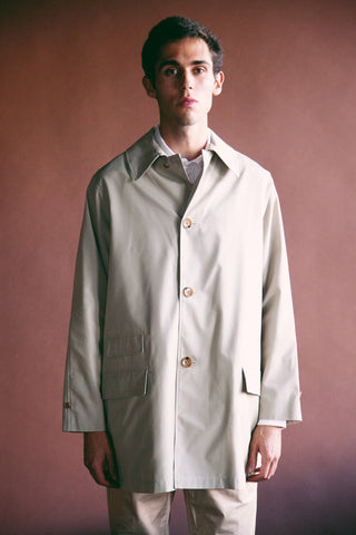 beams plus Travel Coat - Beige