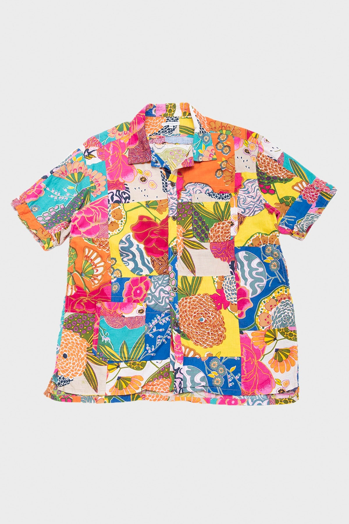 Engineered Garments - Camp Shirt - Floral Patchwork - Canoe Club