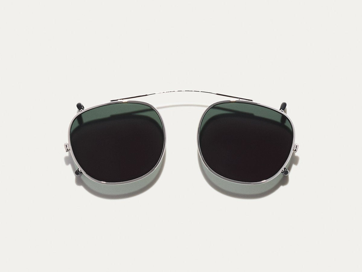 Moscot - Cliptosh - Silver/G15 Lenses - Canoe Club