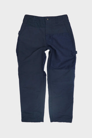 engineered garments Painter Pant - Navy Cotton Double Cloth