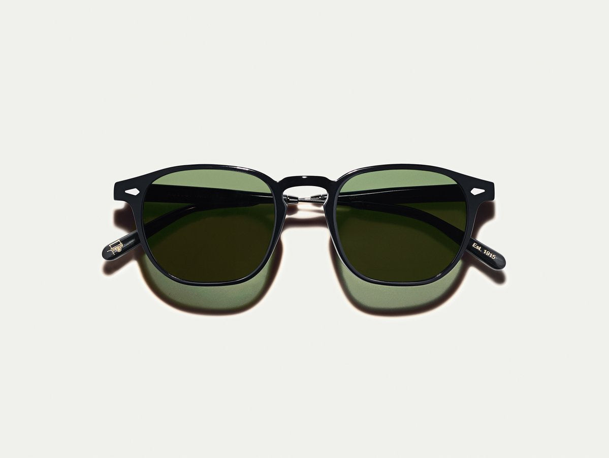 Moscot - Genug - Black/Pewter G15 Lenses - Canoe Club