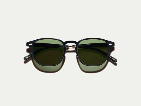 moscot Genug - Black/Pewter G15 Lenses