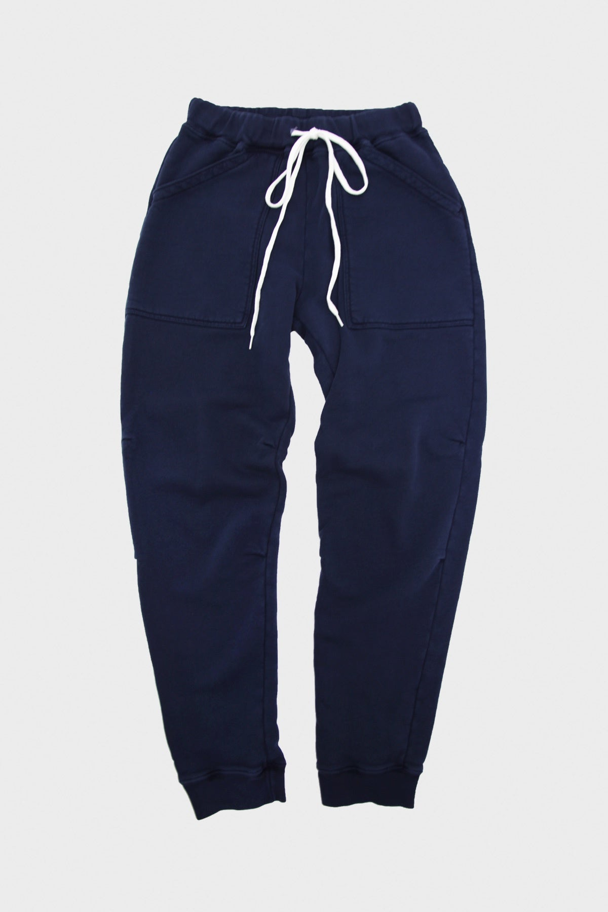 Velva Sheen - Pigment Army Gym Sweatpants - Navy - Canoe Club