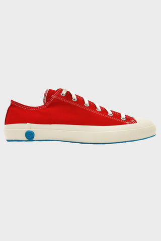 shoes like pottery Cloth Natural Dye Lo-Top Sneaker - Red