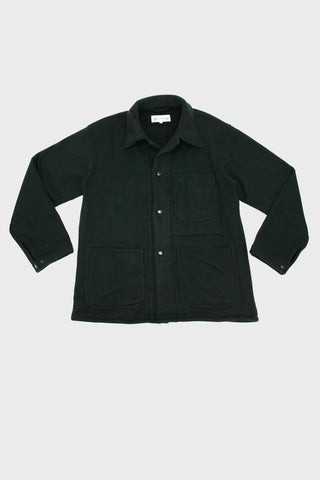engineered garments workaday Utility Jacket - Black Polyester Fleece