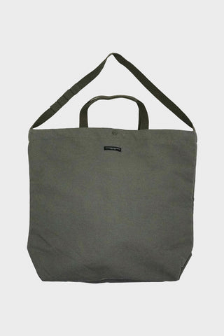engineered garments Carry All Tote - Olive Cotton Double Cloth