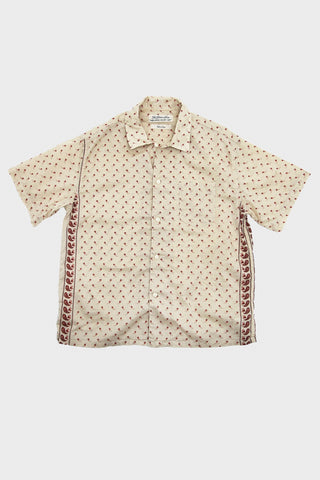 Remi Relief Bandana Paisley Printed Shirt - Off White