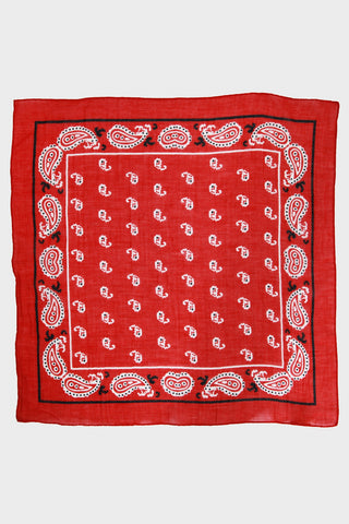 Bandana No. 4 - Crimson