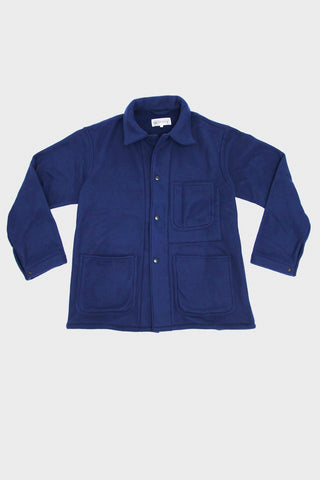 engineered garments workaday Utility Jacket - Navy Polyester Fleece