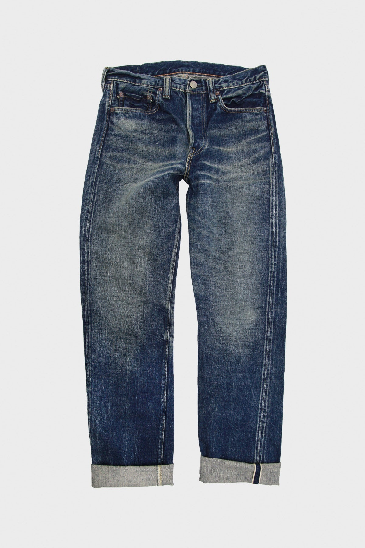 "Full Count - 1108 ""Real Killer 2"" - Washed Denim - Canoe Club"