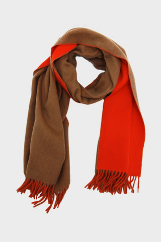 harmony paris Angel Scarf - Camel/Orange