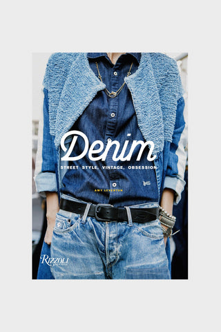 denim book By Amy Leverton