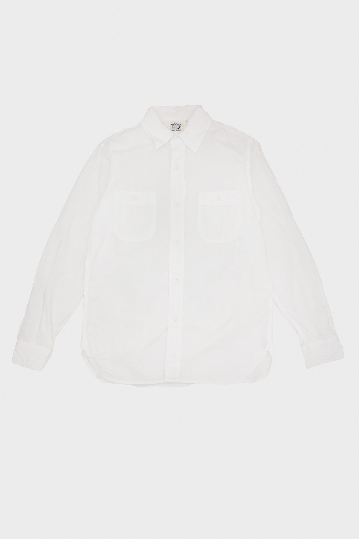 orSlow - Work Shirt - White - Canoe Club