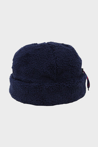 cableami Boa Fleece Cap - Navy