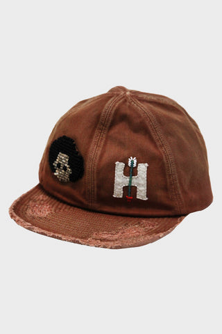 kapital KOUNTRY - Cotton KOLA Cap (ZUNI) - Brown