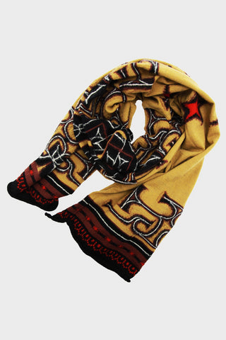 Compressed Wool Scarf AINU x BETSY ROSS - Gold
