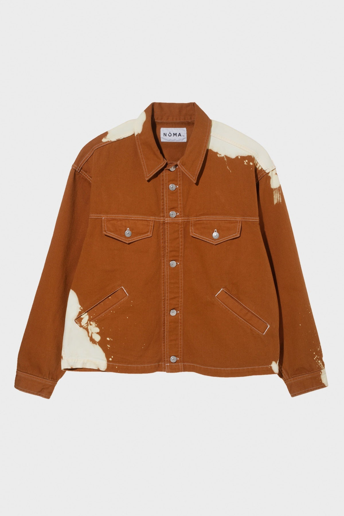 Noma t.d. - Painter Trucker Jacket - Walnut - Canoe Club