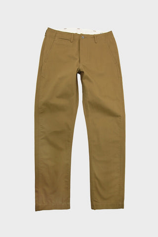 Slim Fit Army Trousers - Khaki