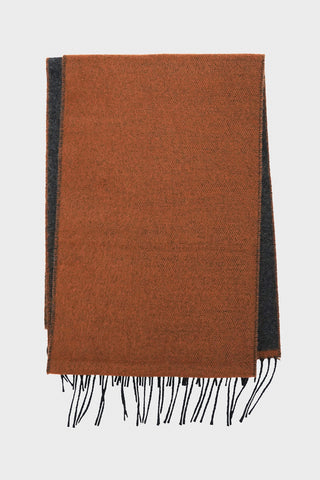 universal works Scarf - Cumin/Charcoal