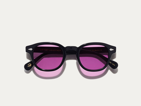 Lemtosh - Black with Purple Nurple Lenses