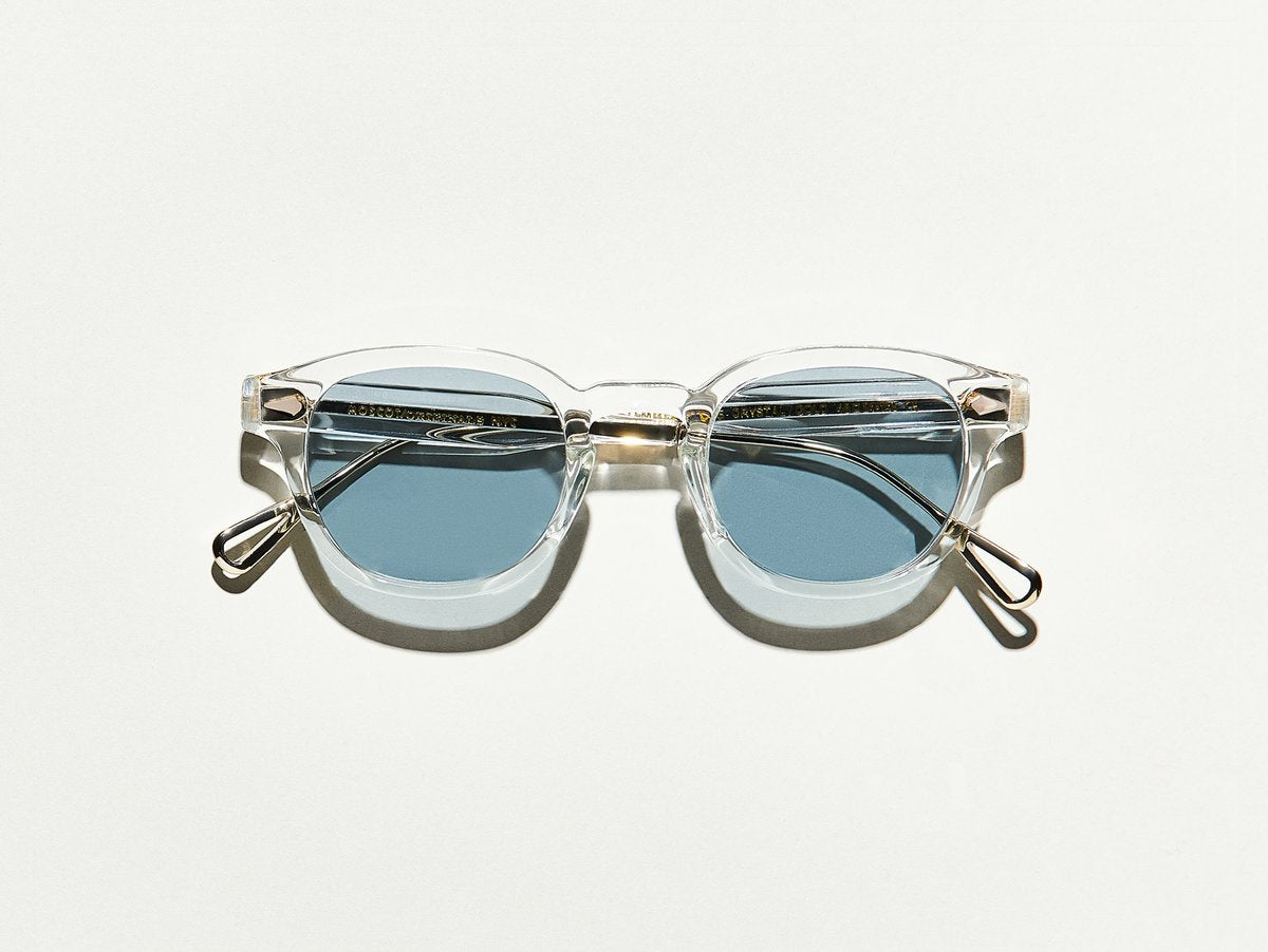 Moscot - Lemtosh TT - Crystal/Gold/Blue Lenses - Canoe Club