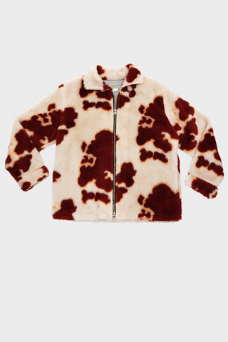 sugar cane clothing japan Holsten Kodiak Zip Jacket - Brown Cow
