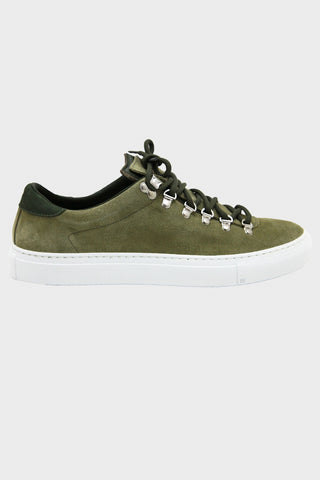 Marostica Low - Olive Suede
