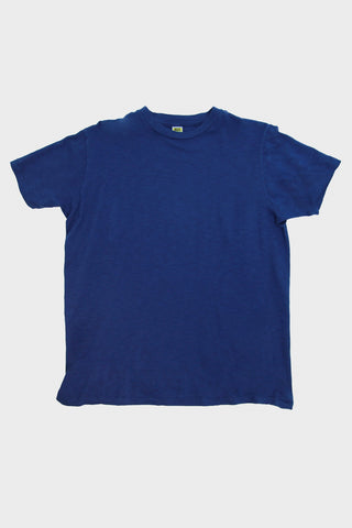 Velva Sheen Short Sleeve Rolled Tee - Blue