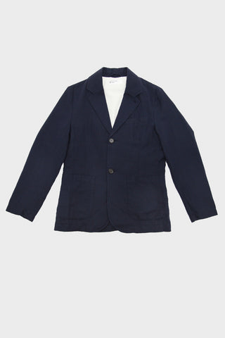 Two Button Jacket - Navy