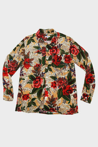 engineered garments Classic Shirt - Yellow Hawaiian Rayon Floral