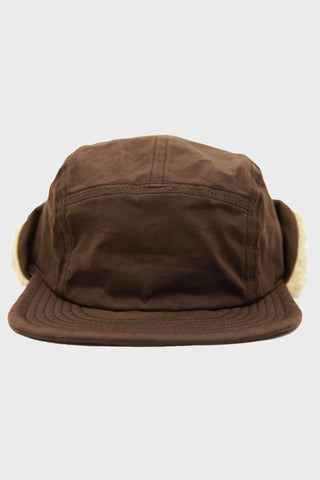 Paraffine Weather Cap - Brown