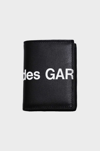 comme des garcons wallet Huge Logo Wallet - Black