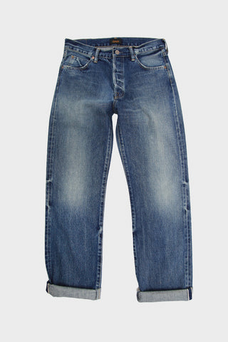 Selvedge Denim Narrow Tapered Cut - Medium Distress