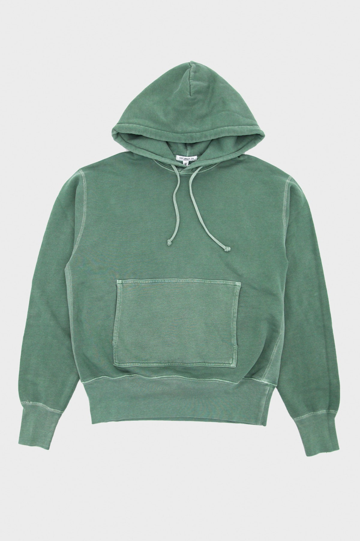 Lady White Co. - Canoe Club Hoodie - Chalk Green - Canoe Club