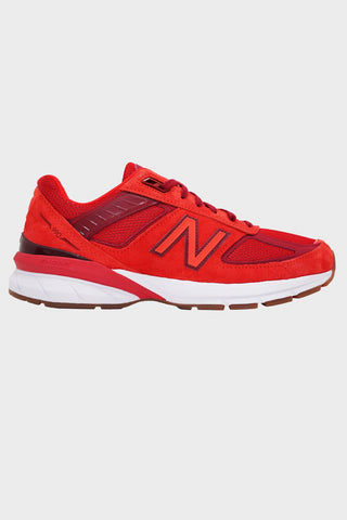 new balance M990 shoes - Molten Lava/Fireball