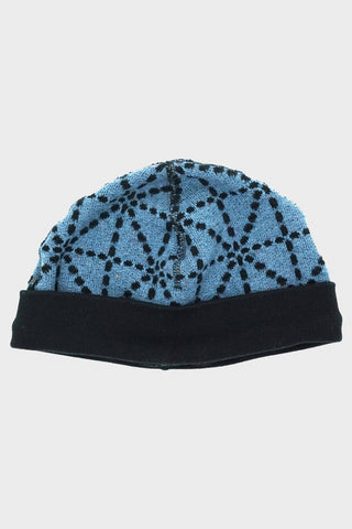 kapital DO-GI SASHIKO Fleecy Knit BEACH Cap - Blue