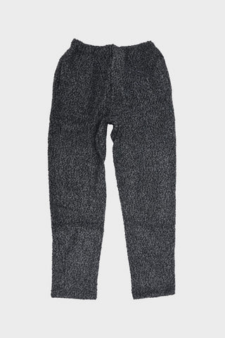 engineered garments Jog Pant - Charcoal Poly Acrylic Curly Knit