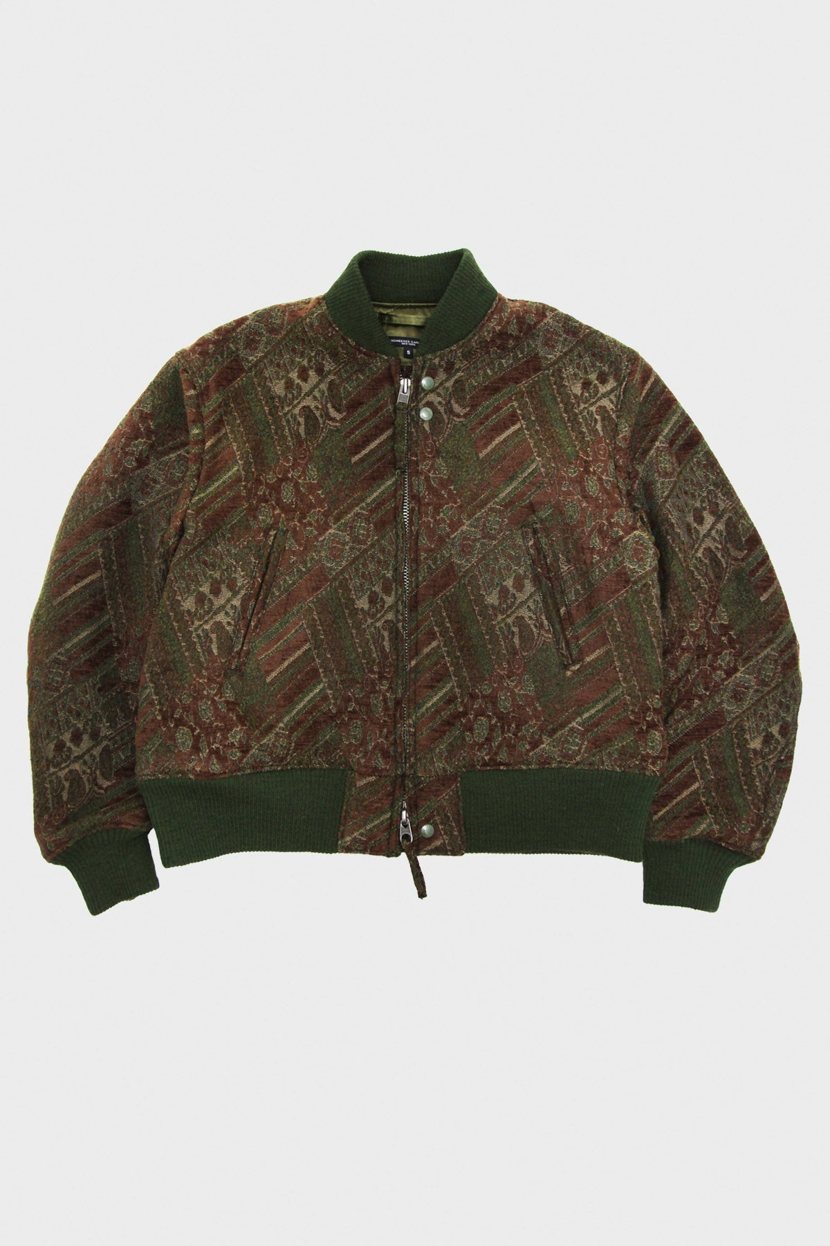 Engineered Garments - SVR Jacket - Olive/Brown Chenille - Canoe Club