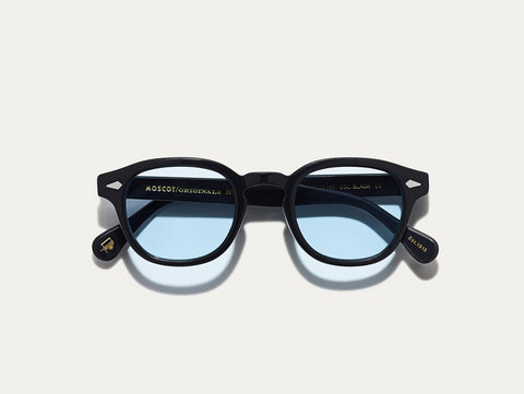 Lemtosh - Black with Bel Air Blue Lenses