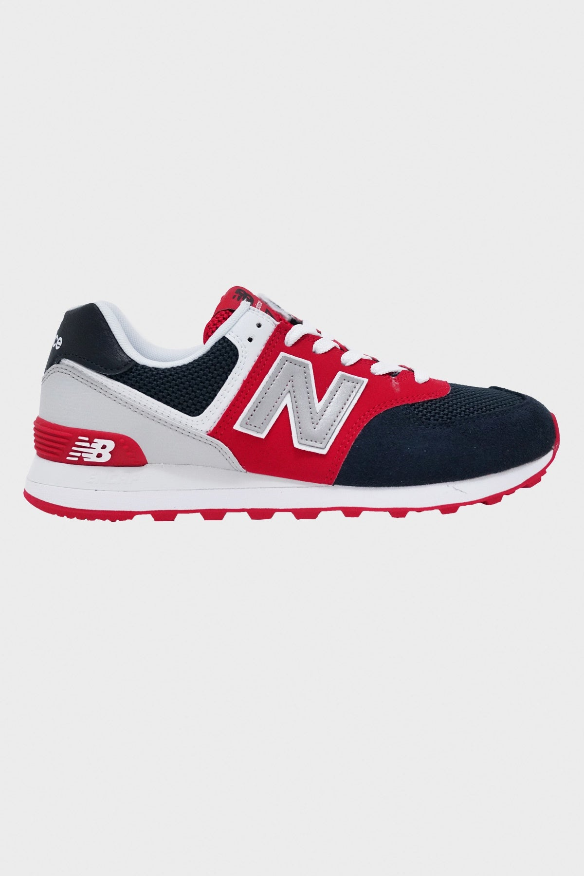 New Balance - 574 Essentials - Navy/Red/White - Canoe Club