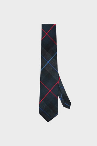 engineered garments Neck Tie - Navy/Teal/Red Big Plaid