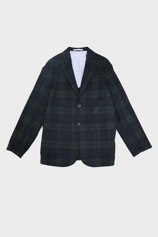 beams plus Flannel Jacket - Blackwatch