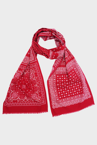 engineered garments Bandana Scarf - Red